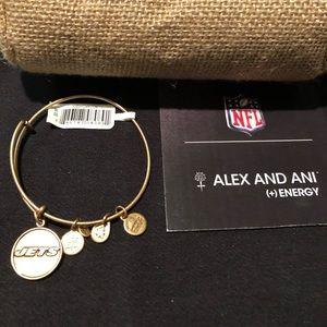 Alex and Ani New York Jets Bracelet